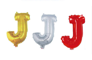 Balon črka J