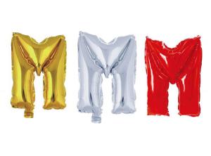 Balon črka M
