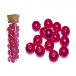 Dekorativne perle roza 2-17