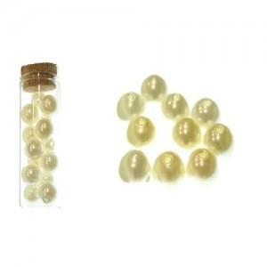Dekorativne perle bež 3-8