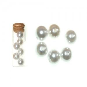 Dekorativne perle bela 3-19