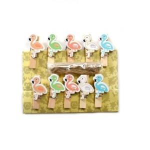 Dekorativne kljukice Flamingo