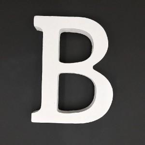 Lesena črka B  11 cm