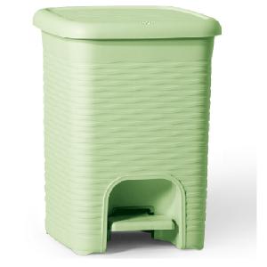 Koš za smeti 16l svetlo zelena