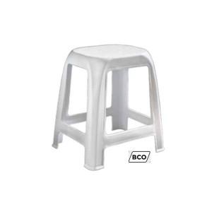 Plastični stol-bela