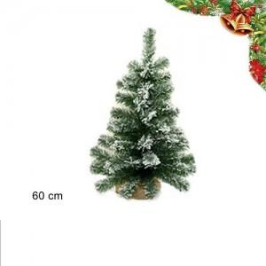 Božična smreka s snegom 60cm