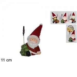 Božični okrasek s sponkico