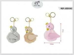 Obesek za ključe flamingo