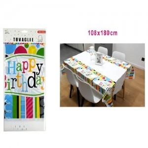 Prt za mizo happy birthday 108*180cm