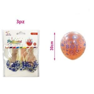 Baloni s konfekti It's a boy 30cm 3/1