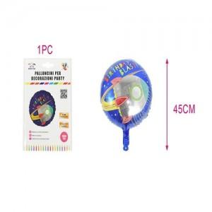 Aluminijasti balon 45cm