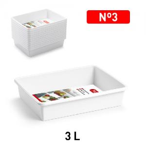 Plastični pladenj 3l REF:11178
