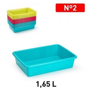 Plastičen pladenj 1,65l REF:11328