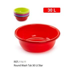 Plastična posoda okrogla 30l REF:11411