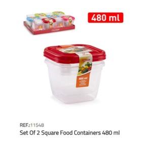 Plastična posodica 2/1 480ml REF:11548