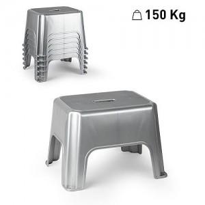 Plastični stol srebrna REF:1237212