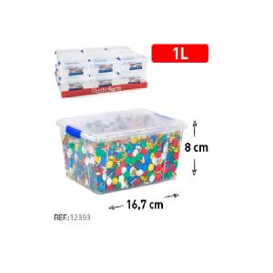 Plastična škatla 1l REF:12393