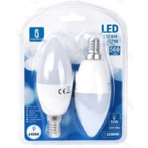 Led žarnica (bela) E14 7W