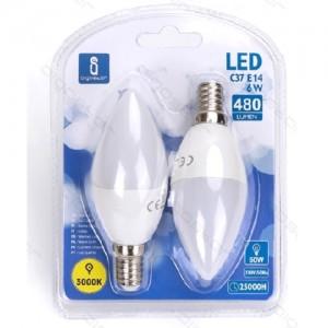 Led žarnice (rumena) E14 6W