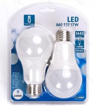 Led žarnice (bela) E27 17W