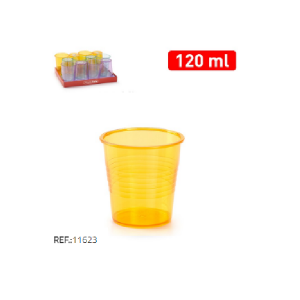 Plastičen kozarec 120ml REF:11623