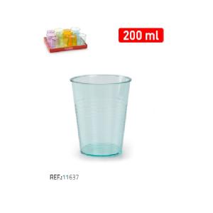 Plastičen kozarec 200ml REF:11637