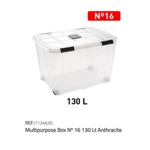 Plastična škatla 130l N°16