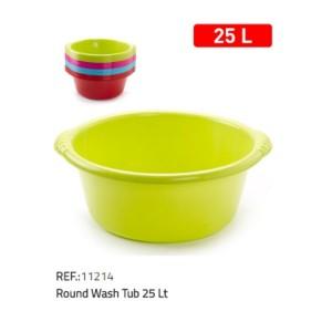 Plastična posoda okrogla 25l REF:11214