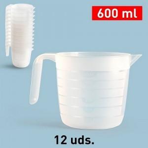 Plastičen vrč-600ml REF:11795