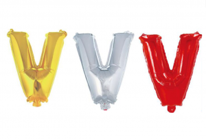 Balon črka V