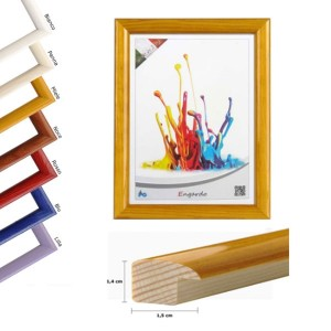 Okvir barvni 10x15cm